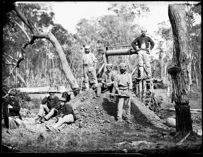 Early gold mining