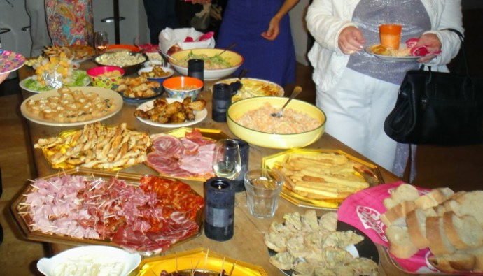 What a spread - however a Fail for AWW standards of Decoration