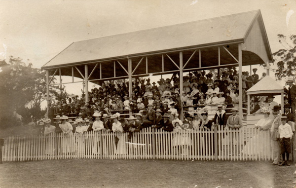 Moruya Racecourse Grandstand - early 1900s