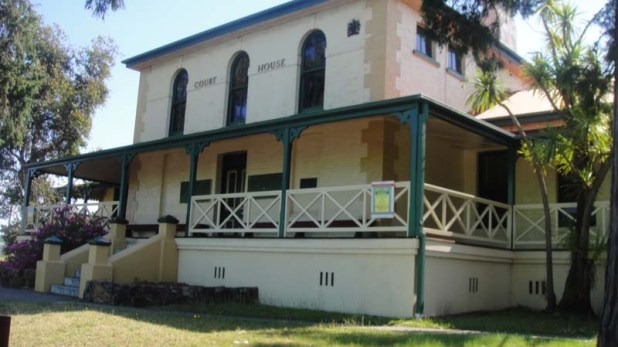 Moruya Court House where the voting for the 1914 federal election took place