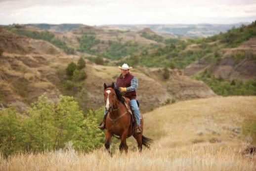 North_Dakota_Outdoors_Cowboy_Horseback_JL