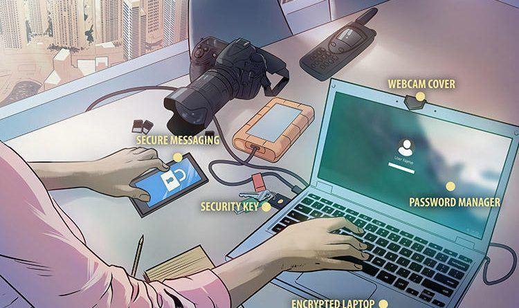 Կիբերանվտանգությունը լրագրողների համար