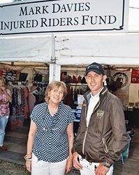 Scott Brash joins Mark Davies Injured Riders Fund