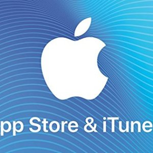 $100 iTunes & App Store Gift Card image not available