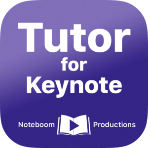 Tutor for Keynote image not available