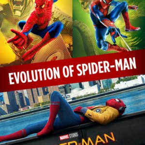 Evolution of Spider-Man image not available