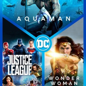 Aquaman, Wonder Woman, & Justice League combo image not available