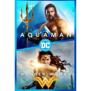 Wonder Woman & Aquaman bundle image not available