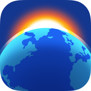 Living Earth - Clock & Weather image not available
