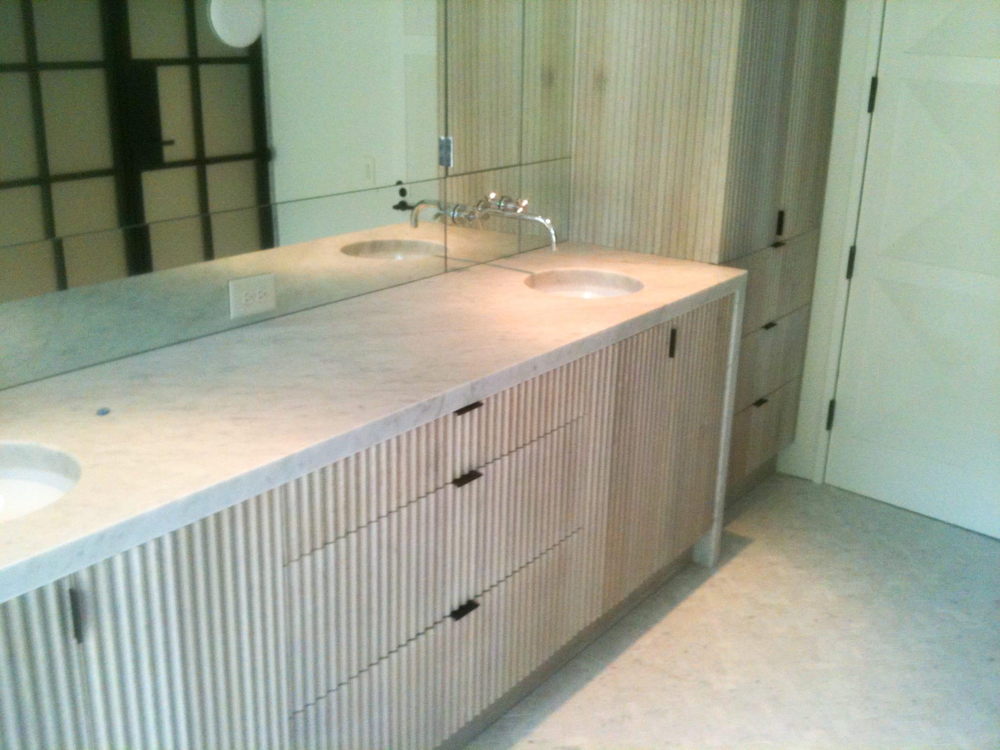 rhoden fluted bathroom vanity mdm
