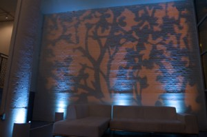 Pattern Lighting for a Wedding at Chicago Room 1520