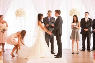 Galleria Marchetti Wedding Ceremony Backdrop