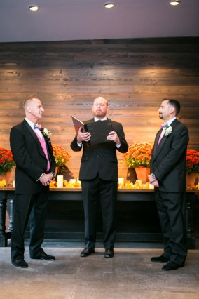 Gay Wedding at Atrium Events