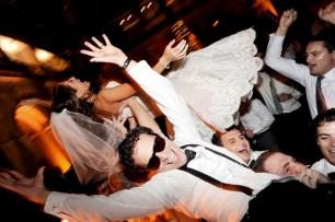 Bride and Groom at Art Institute Wedding