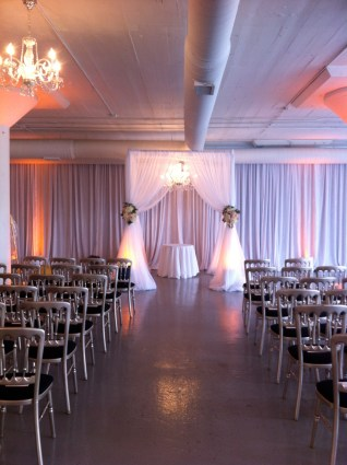 Wedding Ceremony Structure at Room 1520