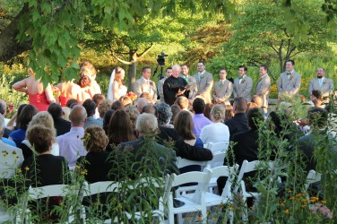 Wedding Ceremony Outside