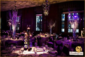 Hotel Allegro Wedding Lighting