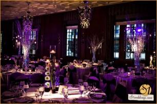 Hotel Allegro Wedding Lighting