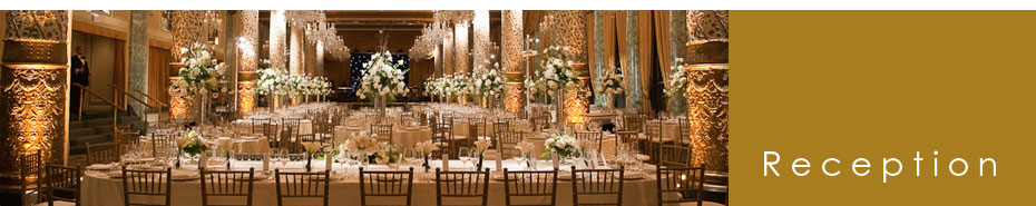 Wedding Reception Photo Gallery