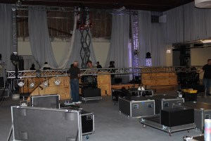 Lighting Truss and Rigging