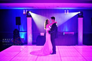 Light Up Dance Floor at a Chicago Wedding