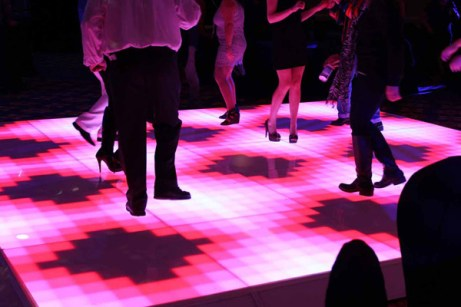 Light Up Dance Floor at a Chicago Corporate Event