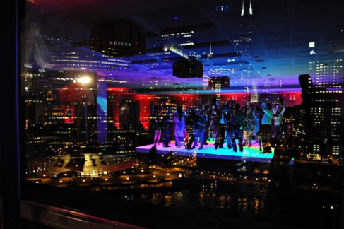 LED Dance Floor for a Corporate Event in Chicago