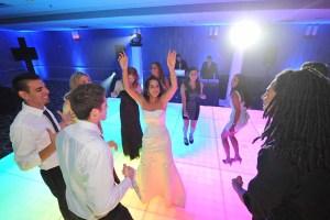 Light Up Dance Floor for a Chicago Wedding