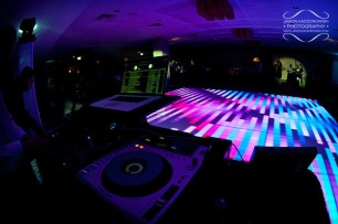 Chicago DJ and LED Dance Floor