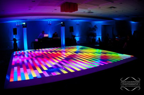 Chicago DJ and Light Up LED Dance Floor