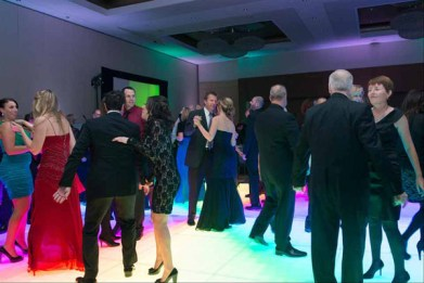 Light Up Dance Floor at a Corporate Event in Schaumburg