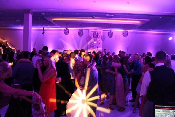 Amy and Nick's Belvedere Wedding with Chicago Wedding Lighting