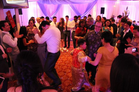 Christina and Ron's Traditional Chinese and Indian Wedding Dancing 2