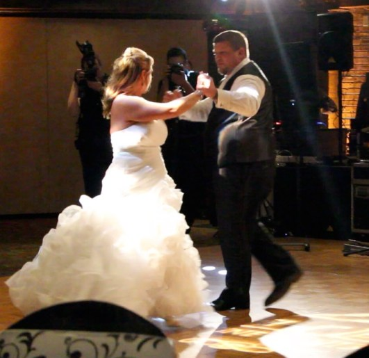 Cristi and Jeffs Indian Lake Hilton Wedding First Dance