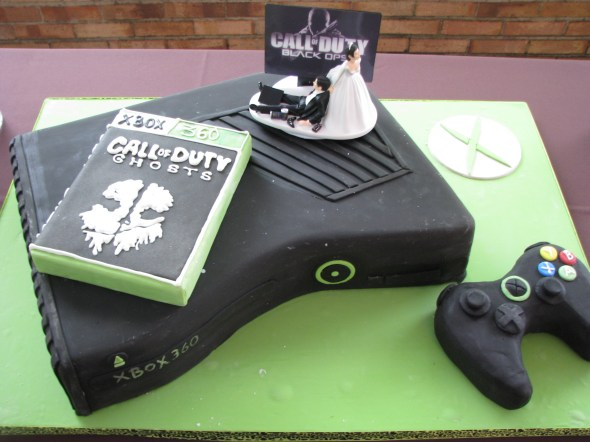 Awesome Groom's Cake