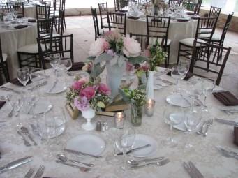 Wedding Centerpiece at Chicago Botanic Gardens