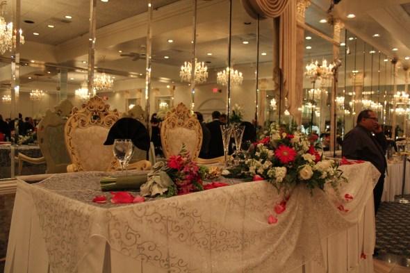 Alta Villa Banquets Sweet Heart Table