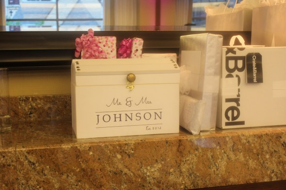 Card Box at the Omni Chicago Hotel Wedding
