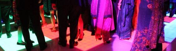 LED Dance Floor at an Esplanade Lakes Wedding