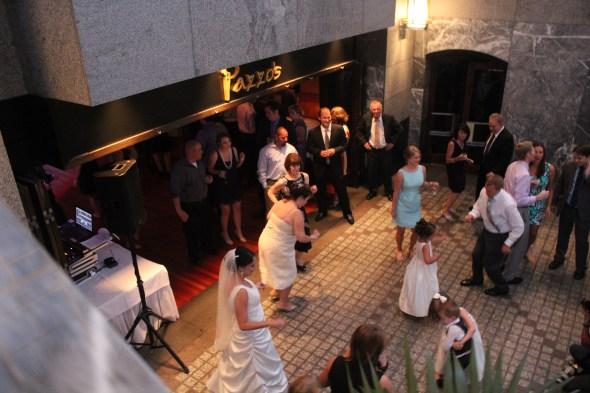 Wedding at Pazzo's bar area