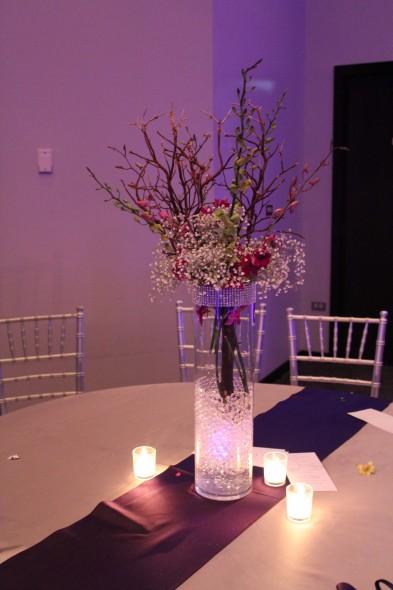 White Pine Golf Club Wedding Centerpieces
