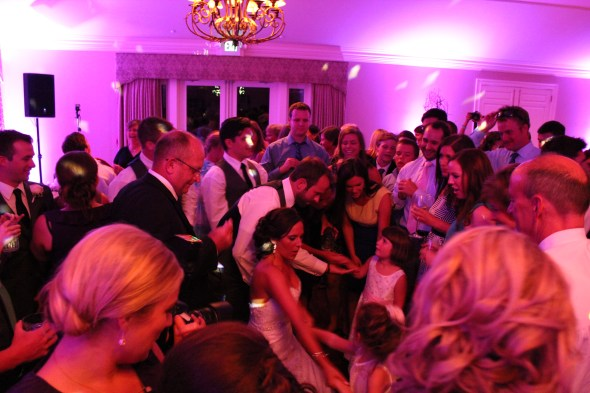 Chicago Wedding DJ at Inverness Golf Club Wedding
