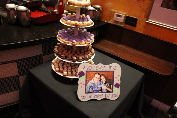 Mini CupCakes at Carnivale Wedding