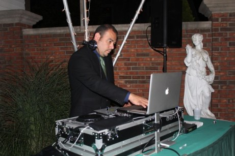 MDM DJ David at Seasons of Long Grove Wedding