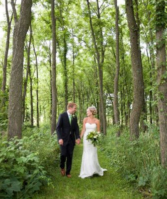Oak Hill Country Wedding Woods