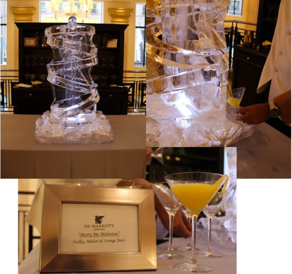 Signature drink at JW Marriott Chicago Wedding