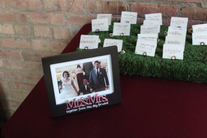 Mr and Mis at the Bridgeport Art Center Wedding