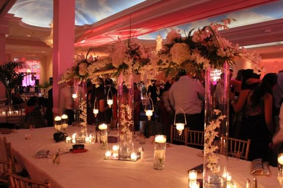 Ashyana Banquets Wedding Centerpieces