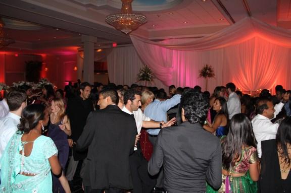 Dancing at the Ashyana Banquets Wedding