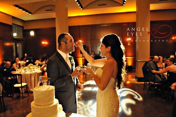 Newberry Library Wedding Cake Cutting